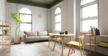 Очаровательные стулья Yamanami от дизайнера Mikiya Kobayashi