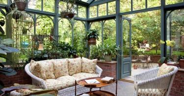 Великолепные проекты домашней оранжереи