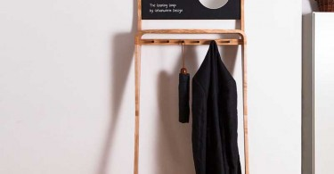 Креативная вешалка Leaning Loop от Джексона ван дер Берга