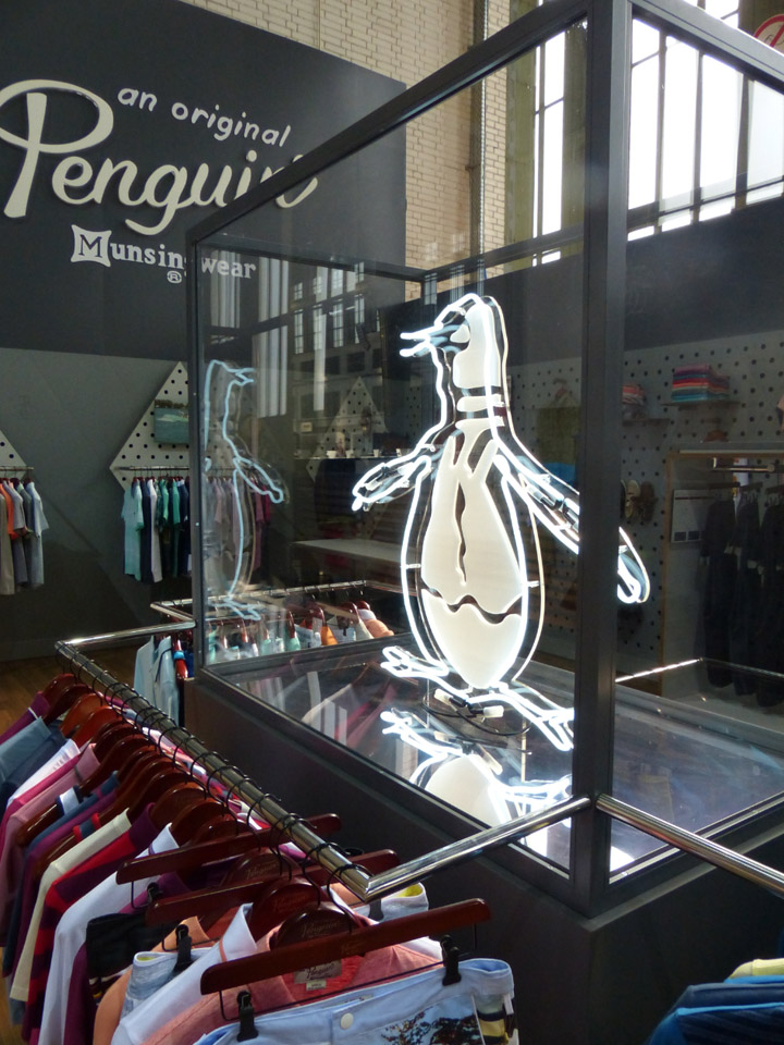 The flawless collection of the Original Penguin brand at Bread - Butter Berlin 2013