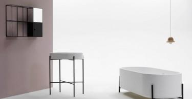 Красивая ванна от Norm Architects