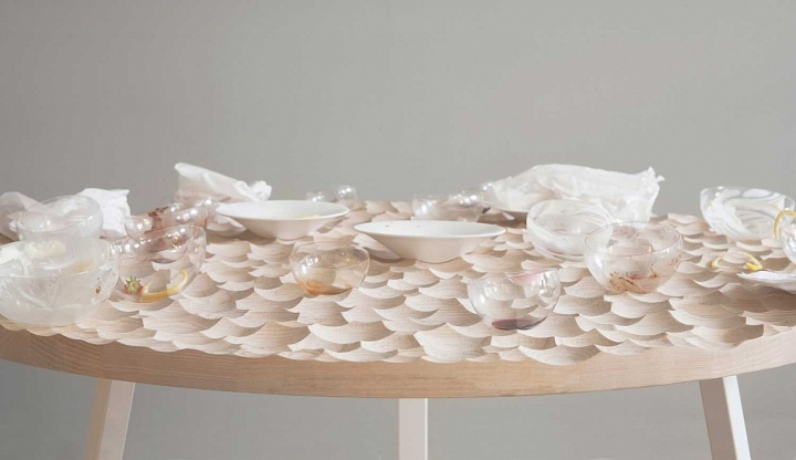 Umami Round Dining Table by Sofia Almqvist