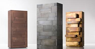 Креативные шкафы из коллекции Celato от De Castelli