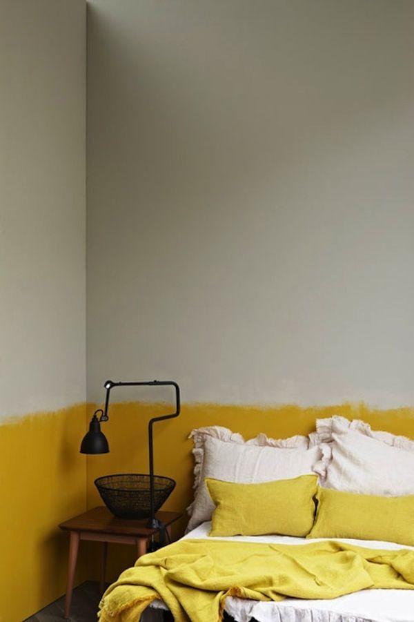 Как покрасить стены по модному