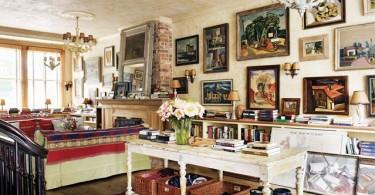5 советов как правильно разместить картины на стене