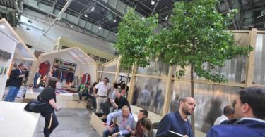 Стильный эко-павильон Napapijri Green House на выставке Bread & Butter Berlin 2013 Summer
