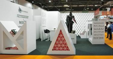 Дизайн павильона HEXACOMB