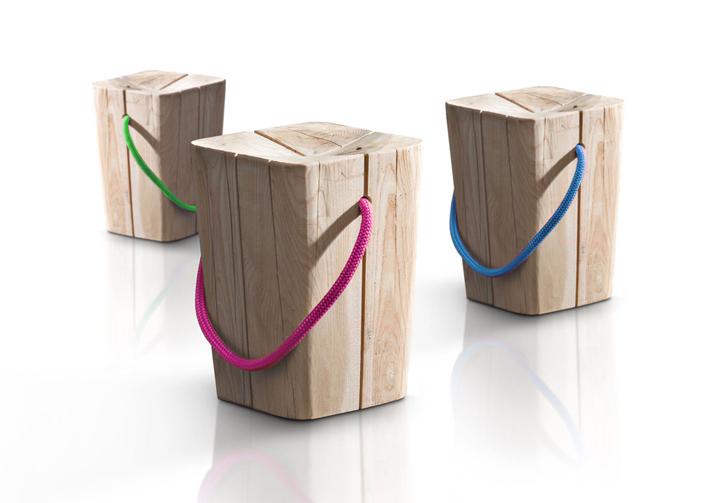 Креативные деревянные стулья Hug Wooden от Emo Design