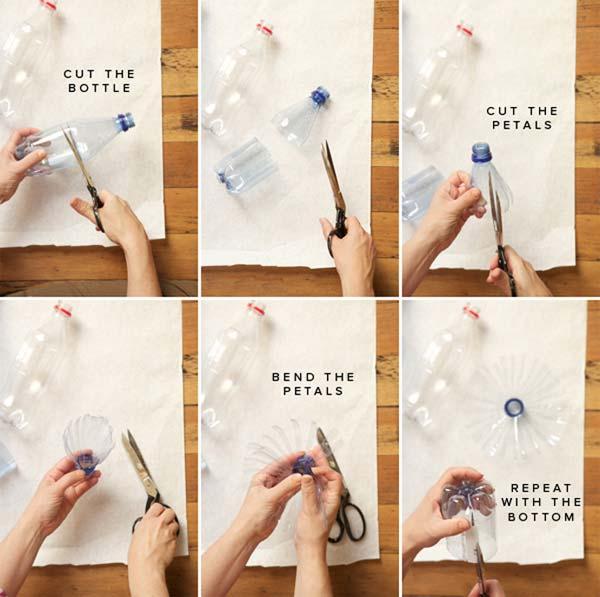 Создание подделки из пластиковых бутылок