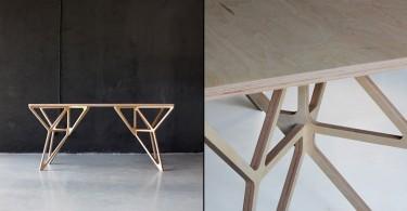Письменный стол из коллекции Plywood Collection
