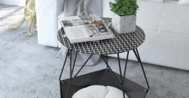 Приставной столик KRATER от студии Levantin Design