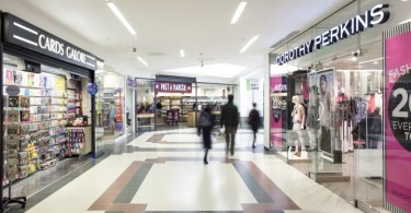 Осветительные приборы торгового центра