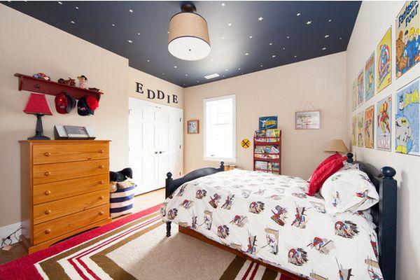 Звездный потолок в детской