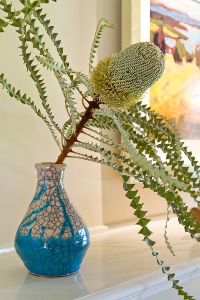 Ваза с растением