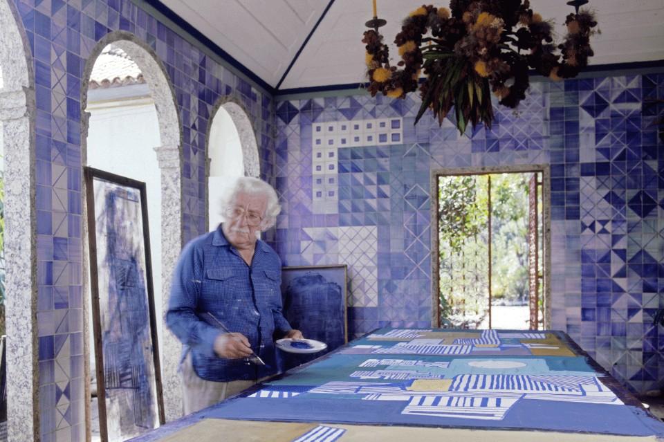 Архитектор Роберто Бурле-Маркс за работой