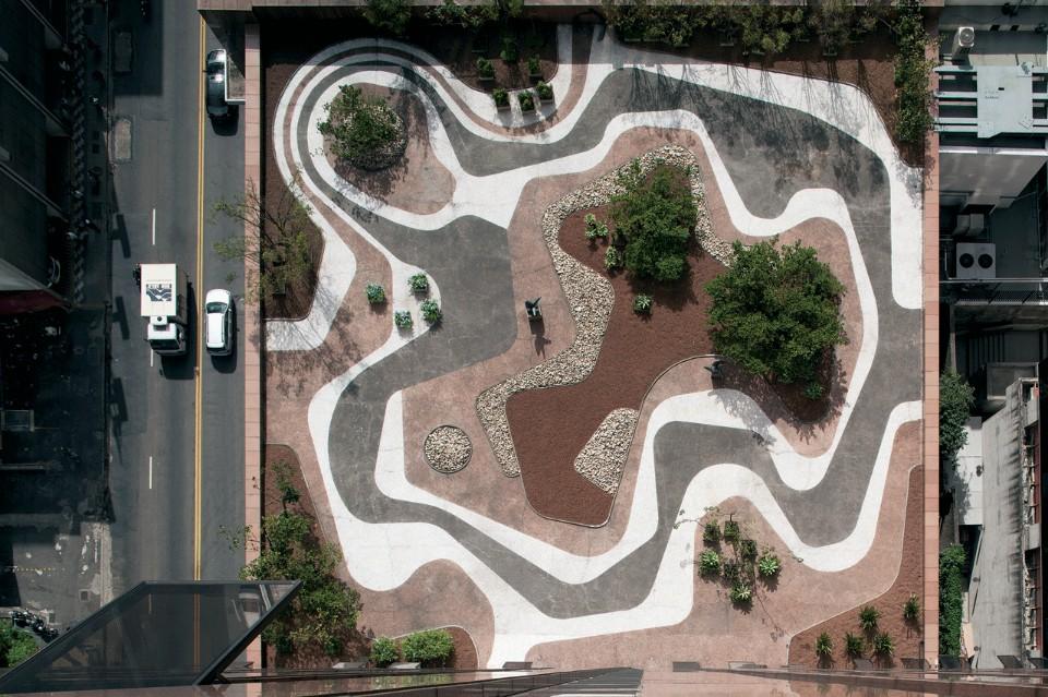 Сад на крыше от Роберто Бурле-Маркс