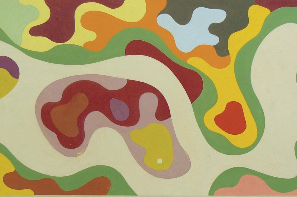 Архитектор Роберто Бурле-Маркс: абстрактная композиция 2