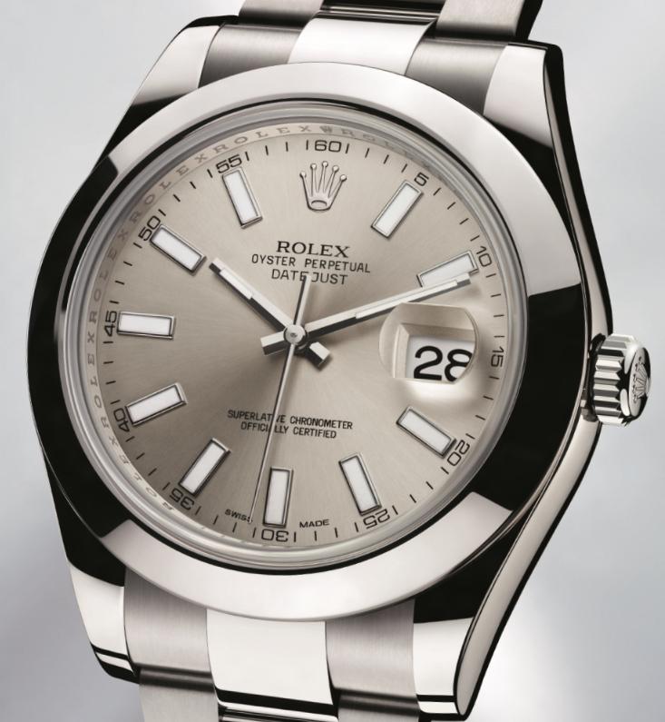 Мужские часы Day Date Presidential от Rolex с серым циферблатом