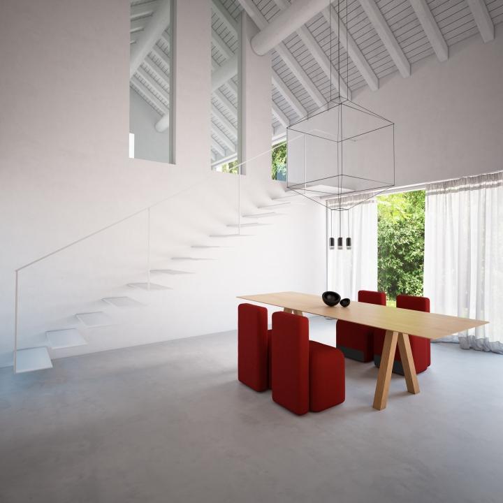 Красочные кресла Season от Piero Lissoni