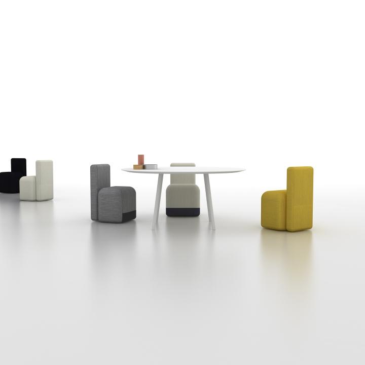 Чудесные кресла Season от Piero Lissoni