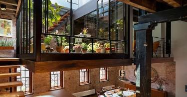 Интерьер апартаментов Sensational NYC Loft в Нью-Йорке