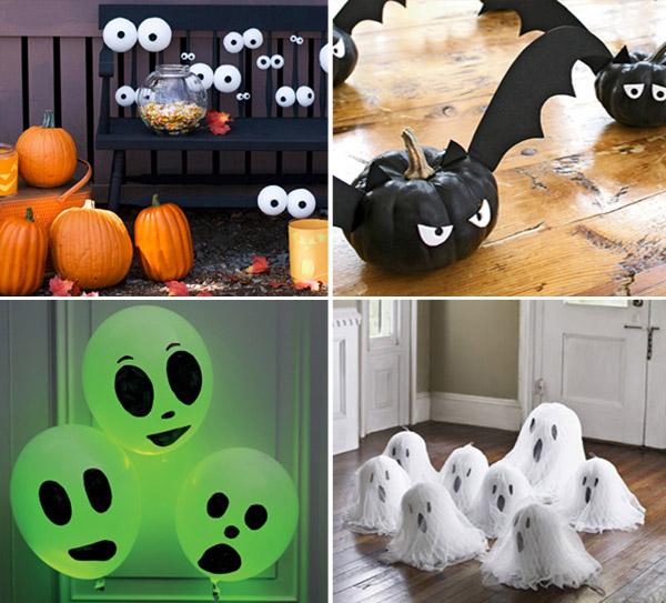 Идеи для хэллоуина декор своими руками