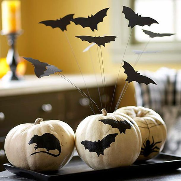 Украшение на хэллоуин для квартиры
