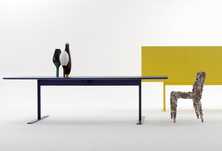 Кресло без подлокотников Sharpei от Массимилиано Адами