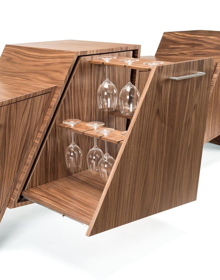 Фигурный мини-бар от Peter Pierobon