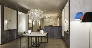 Совершенный дизайн выставочного зала осветительного оборудования