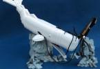 Красивая скульптура из конструктора LEGO