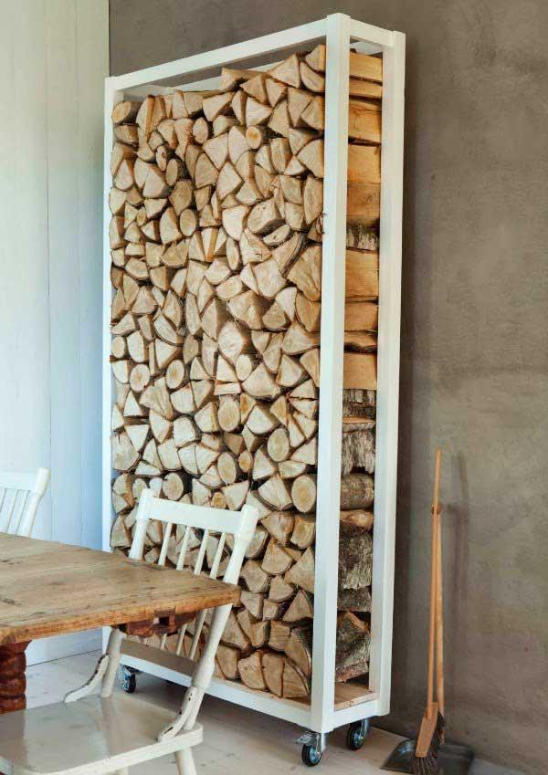 Система хранения дров