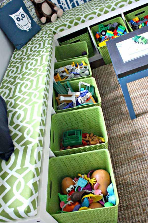 Ящики для хранения детских игрушек