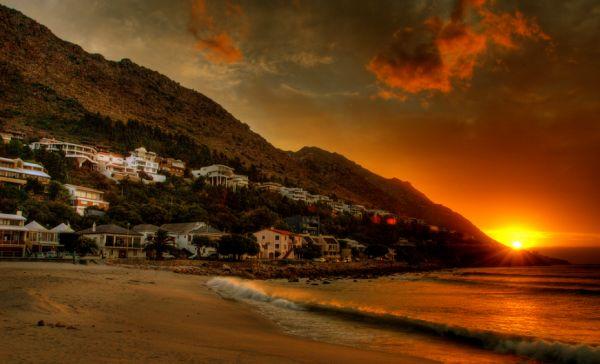 Закат в Южной Африке