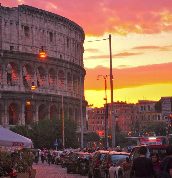 Закат над Римом