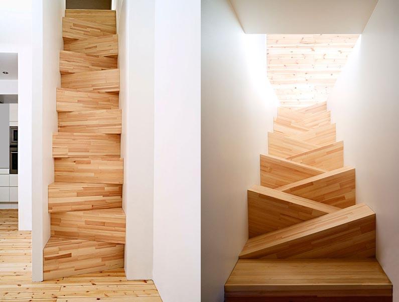 Интересная лестница своими руками 98