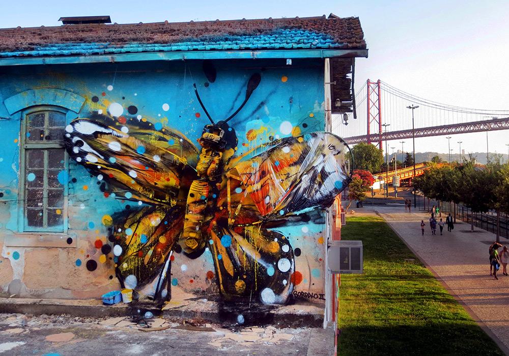 Настенное граффити