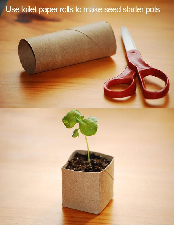 Горшок для цветка из картона