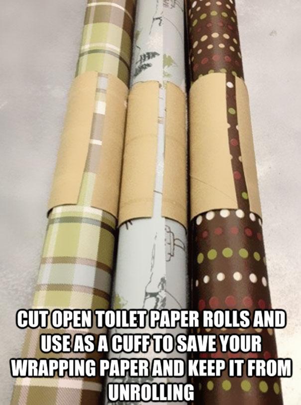 Картонный держатель для упаковочной бумаги