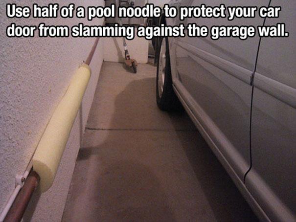 Смягчитель для трубы в гараже