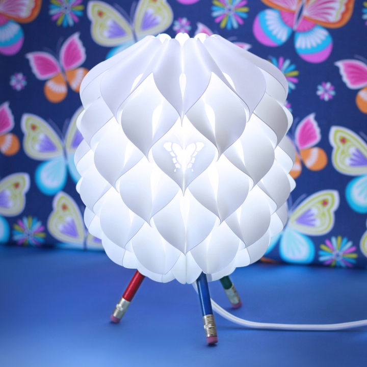 Крутой флакон лампы Niki от Сандера Баккера
