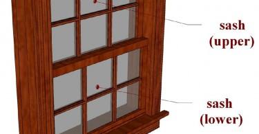 Анатомия подъёмных окон: переплёт