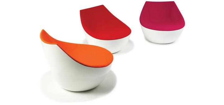 Красочные кресла The Orbital от Christophe Pillet