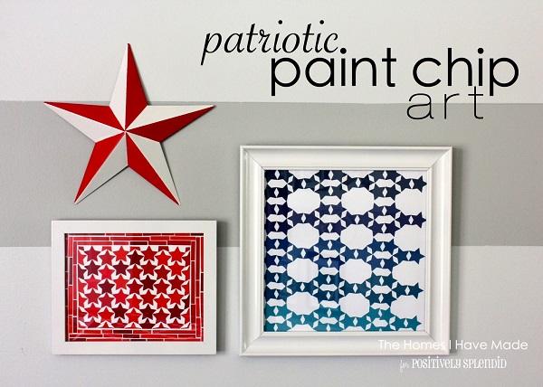Картины со звёздочками в американском стиле