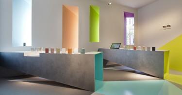 Цвет как проявление света в дизайне павильона Tollens на выставке Casa Decor 2013