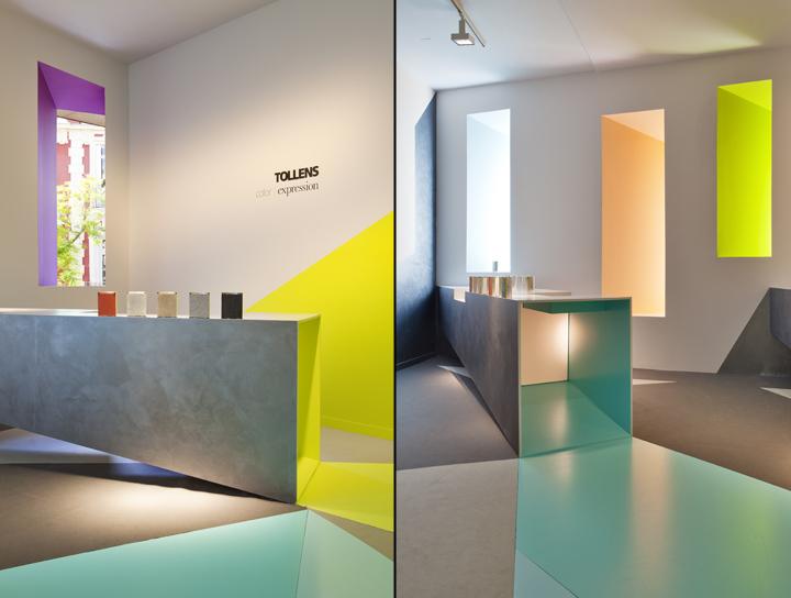 Дизайн интерьера павильона на выставке