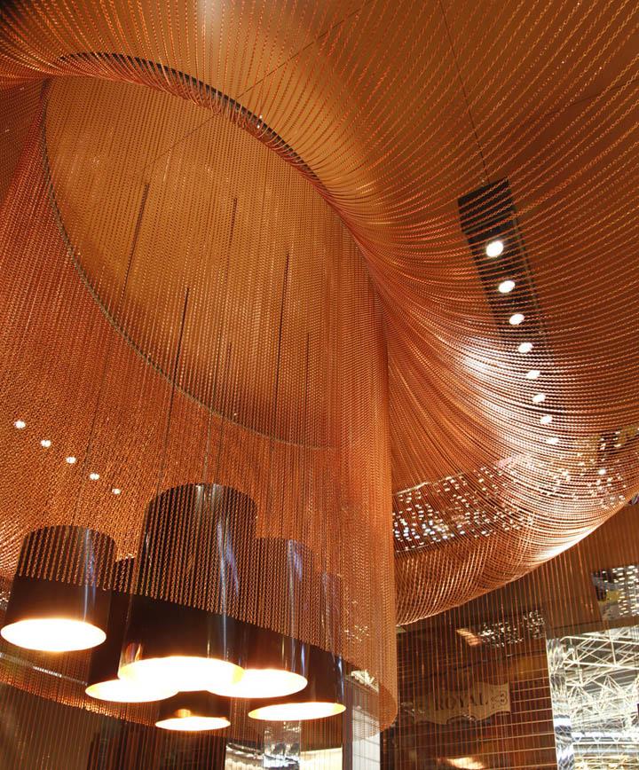 Светодизайн в павильоне на выставке