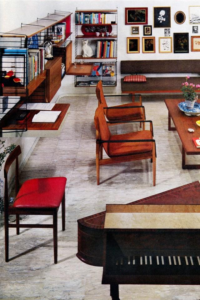 Винтажная мебель в интерьере