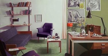 Интерьер из раскованных 50-х