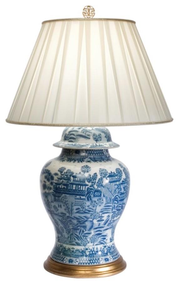 Настольная лампа в традиционном стиле
